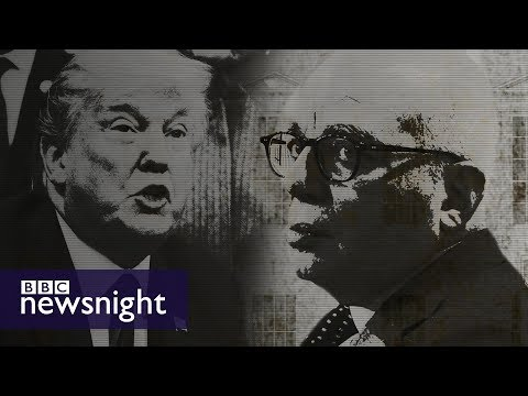 Michael Wolff on Fire and Fury – BBC Newsnight