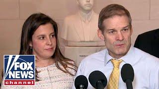 Jordan, Stefanik respond to Sondland's impeachment testimony
