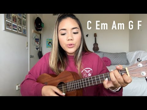 Count On Me Bruno Mars Uke Tutorial FAST AND EASY