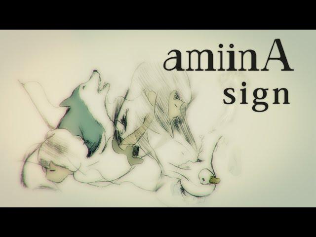 sign - amiinA