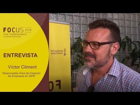 Entrevista Víctor Climent - Responsable área creación de empresas de GIPE[;;;][;;;]