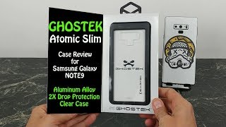 Ghostek Atomic Slim Case Review for Samsung Galaxy Note 9