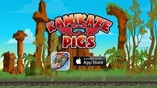 Kamikaze Pigs - Universal - HD Gameplay Trailer