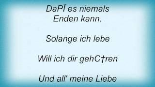 Bata Illic - Solange Ich Lebe Lyrics_1