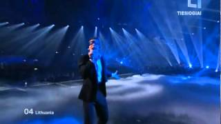 Donny Montell (Donatas Montvydas) - Love is blind Eurovision 2012 Final