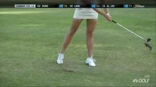 Golf Channel Analyzes Lexi Thompson's Golf Swing