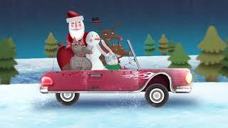 Дед мороз с удочками