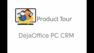 DejaOffice PC CRM video