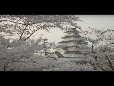 まるで桜雲に浮かぶ鶴ヶ城サムネイル
