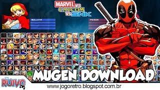 Marvel vs. Capcom vs. SNK MUGEN 2018