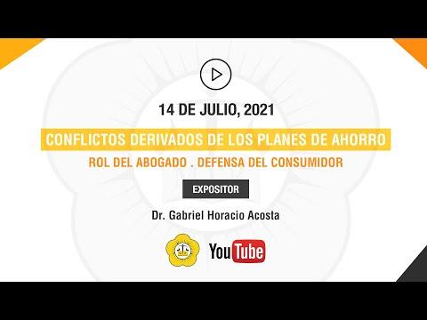 CONFLICTOS DERIVADOS DE LOS PLANES DE AHORRO. ROL DEL ABOGADO. DEFENSA DEL CONSUMIDOR - 14 de Julio 2021