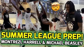 Montrezl Harrell Drops 37 POINTS At Miami Pro League! Michael Beasley In NBA COMEBACK Mode! 💪