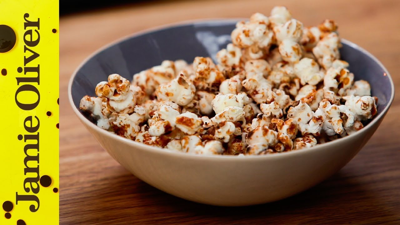 Snacks recipes jamie oliver 100 calorie popcorn snack forumfinder Image collections