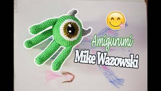 Mike Wazowski Amigurumi Tutorial    Monsters Inc A Crochet
