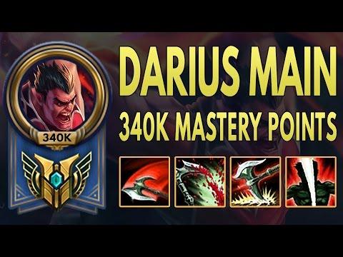 達瑞斯 MONTAGE - 340K MASTERY POINTS