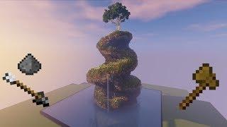 BlockSniper PocketMine Tutorial - Creating a Mountain