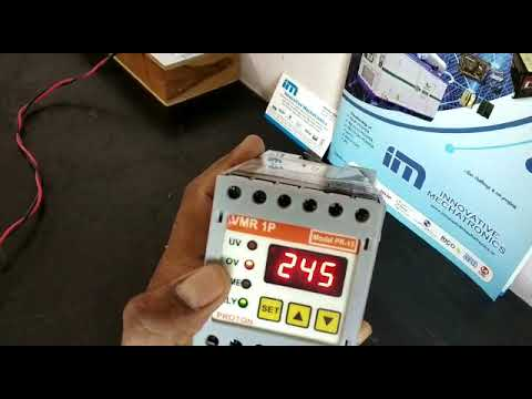 Proton 3ph Dinrail Mountable Voltage Monitoring Relay