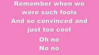 Pink  Who Knew Lyrics