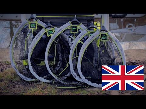 Matrix Fine Mesh Landing Nets Merítőszák Fej videó