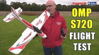 EASY TO FLY: OHIO MODEL PLANES (OMP) S720 RC Ready to Fly Sport Airplane: ESSENTIAL RC FLIGHT TEST