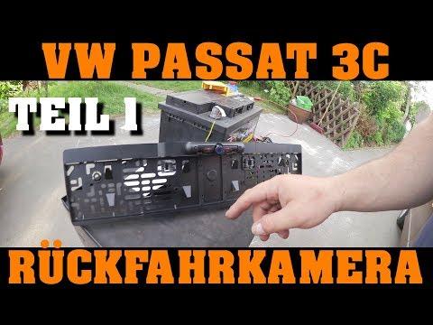 Funk Rückfahrkamera an einem Volkswagen nachrüsten! | TEIL 1