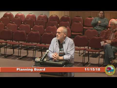 Planning Board 11.15.18
