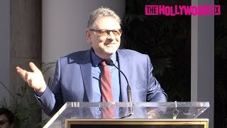 Sir Lucian Grainge From Universal Music Group Speaks At His Hollywood Walk Of Fame Ceremony