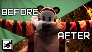 Calvin And Hobbes: Before & After