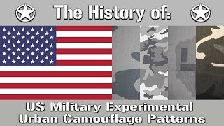 A Look At The US Militarys Experimental Urban Camouflage Patterns | Uniform History