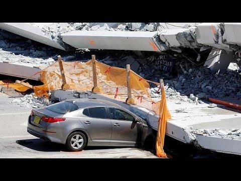Φλόριντα: Υπήρχαν προειδοποιήσεις για ρωγμές στη γέφυρα