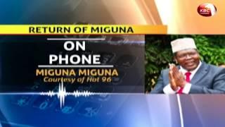 Miguna Miguna  explores options to facilitate his travel to Kenya