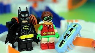 Lego Batman i Hexbug Nano Nitro - Wielki tor przygód !!!
