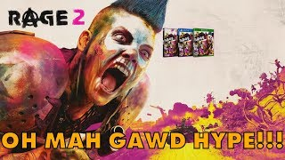 RAGE 2 OH MAH GAWD HYPE! - The Bethesda 7/10 Story