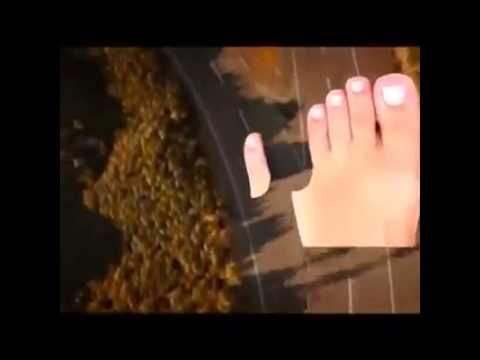 ดารากับพิกลพิการเท้า