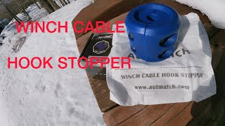 WINCH CABLE HOOK STOPPER   Polaris General   Steffen Outdoors