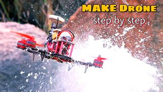 How to build a Racing drone using dji naza v2 flight controller || Full Tutorial step by step