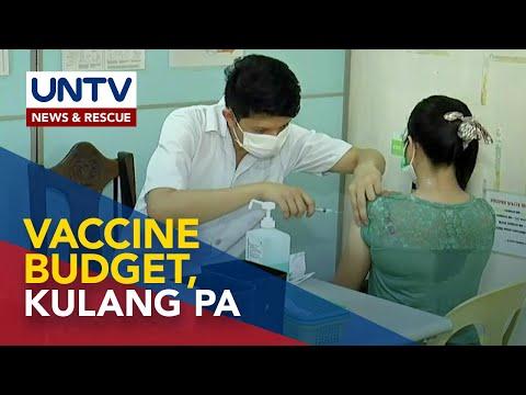[UNTV]  COVID-19 vaccine budget, kulang pa ng mahigit P10-B – DOH