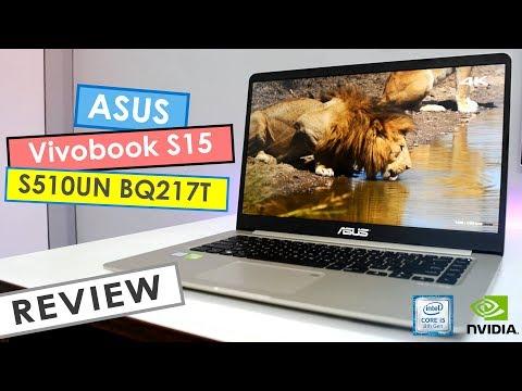 Asus Vivobook S15 S510UN-BQ217T Review ! (2018)