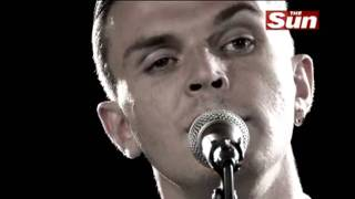 Hurts - Blood, Tears and Gold (Live Biz Session The Sun) HD