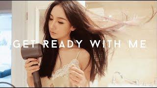 【Missss张妞妞】Get Ready With Me|和我一起准备吧|护肤skincare|Makeup Routine化妆|造型 穿搭