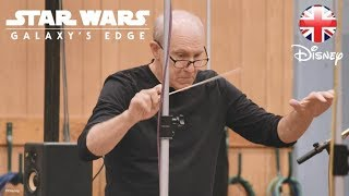 WALT DISNEY WORLD | John Williams Creating Star Wars: Galaxy's Edge Theme | Official Disney UK