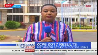 KCPE 2017 examination results updates