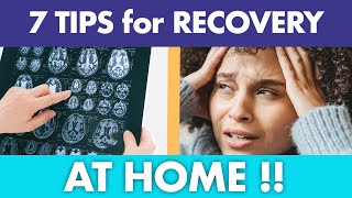 7 TIPS for Concussion Recovery AT HOME! | Cognitive FX
