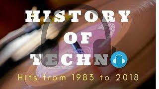 History of Techno Music 1983 - 2018