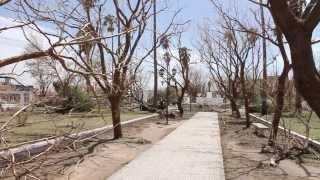 preview picture of video 'Plaza de Villa del Rosario el día después de la tormenta'