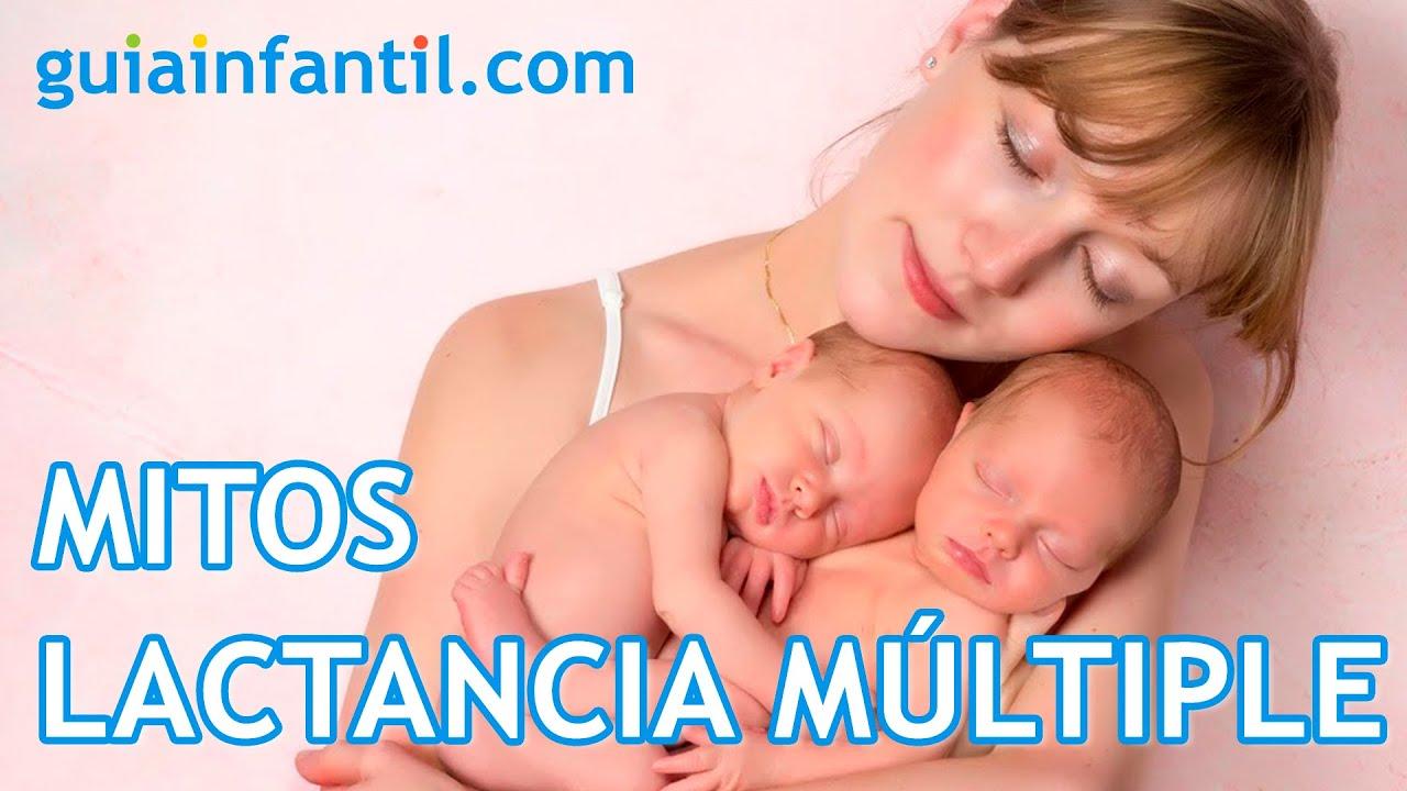 Mitos sobre la lactancia de gemelos o mellizos