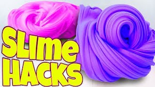 TESTING MORE SLIME HACKS AND FIXES! LEARN HOW TO MAKE THE BEST SLIME!