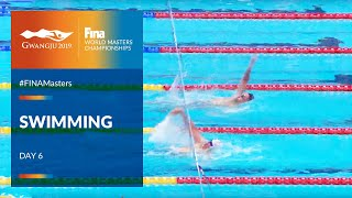 RE-LIVE |Swimming Day 6 | Main Pool |FINA World Masters Championships 2019
