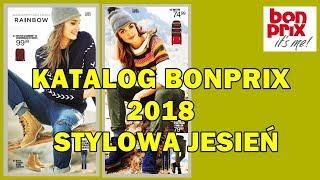 Katalog bonprix    Wrzesień-Październik 2018   Stylowa Jesień