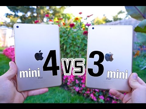 iPad Mini 4 VS iPad Mini 3 - Ultimate Full Comparison